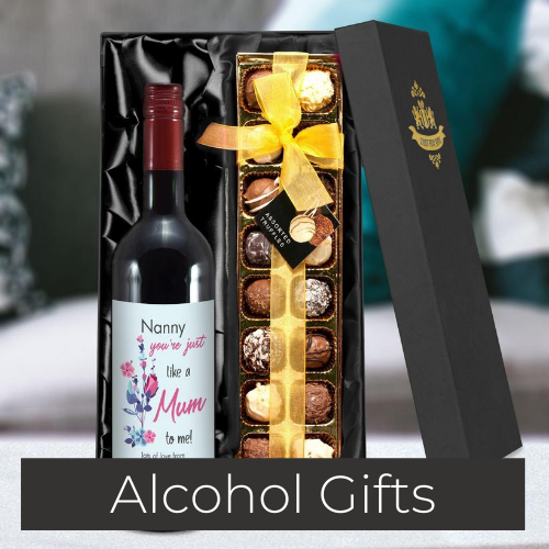 personalised alcolhol gifts