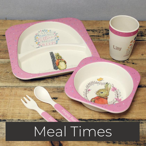 personalsied plates bowls spoons cutlery cups meal time gifts