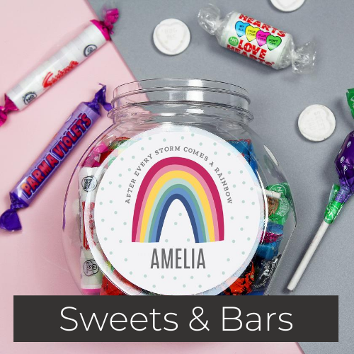 personalised sweets and chocolate gifts
